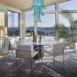 Murano italian glass - Dining Room with View in New Luxury Home