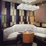 wine bar in retro restaurant