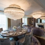 Custom light fixtures for luxury interior design projects